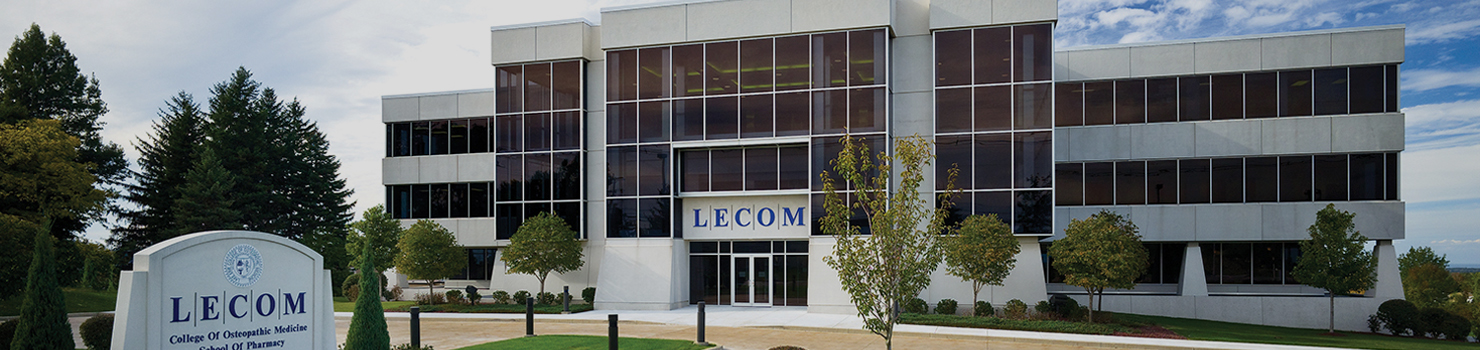 LECOM Erie Banner Image