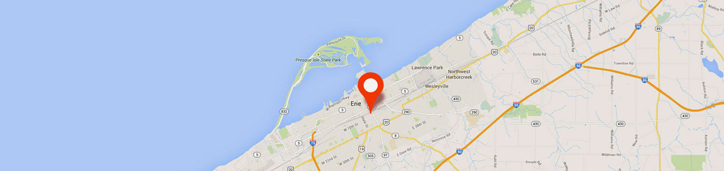 Map of Erie