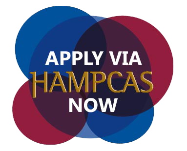 HAMPCAS Logo by LECOM School of Graduate Studies Masters in Health Services Administration